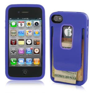 XtremeMac Cover Clip for iPhone 4 - Purple