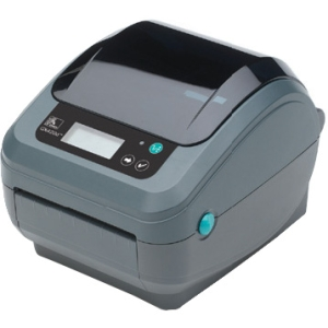 Zebra GX420t Thermal Transfer Printer - Monochrome - Desktop - Label Print - 6 in/s Mono - 203 dpi - Wi-Fi - USB - LCD