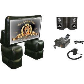 MGM INFLATABLE THEATER KIT 72IN SCREEN/LCD PROJECTOR/SPEAKERS