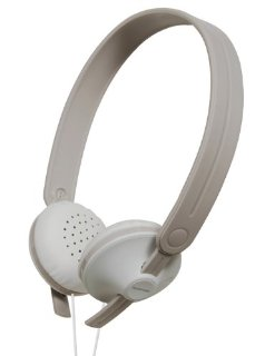 Lightweight Monitor Stereo Headphones - White