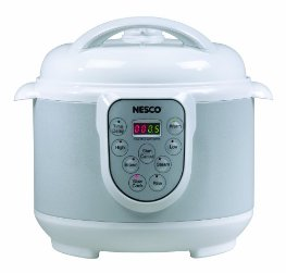 Nesco PC4-14 4-in-1 Digital Pressure Cooker, 4-Quart