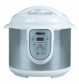Nesco PC6-14 4-in-1 Digital Pressure Cooker, 6-Quart