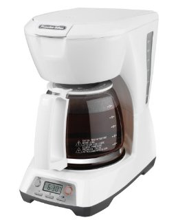 12 CUP PROGRAMMABLE COFFEEMAKER WHITE