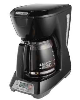 12 CUP PROGRAMMABLE COFFEEMAKER BLACK