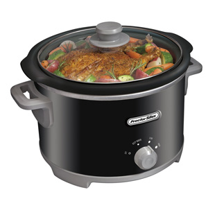 PROCTOR SILEX 4 QUART SLOW COOKER BLACK