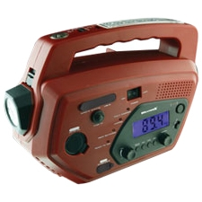 WEATHERBAND &amp; AM/FM RADIO SYSTEM WITH MOBILE PHONE CHARGER