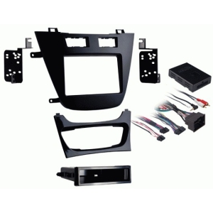 2011-UP BUICK REGAL DASH KIT SINGLE DIN DASH KIT IN BLACK