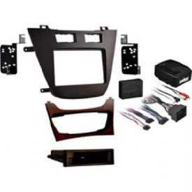 2011-UP BUICK REGAL DASH KIT SINGLE DIN DASH KIT IN BROWN