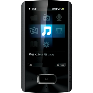 "Philips GoGear SA4ARA08KF 8 GB Flash Portable Media Player - Audio Player, Photo Viewer, Video Player, FM Tuner, Voice Recorder - 2.4"" 76800 Pixel Color LCD - 1 Day Audio - 5 Hour Video"