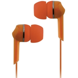 Coby Jammerz Moods CVE56 Earphone - Stereo - Orange - Mini-phone - Wired - Earbud - Binaural - In-ear