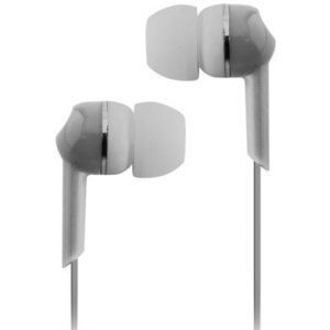 Coby Jammerz Moods CVE56 Earphone - Stereo - Silver - Mini-phone - Wired - Earbud - Binaural - In-ear