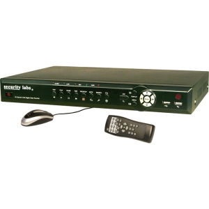 Security Labs SLD256 Digital Video Recorder - 500 GB HDD - H.264, CIF - Fast Ethernet - VGA - USB
