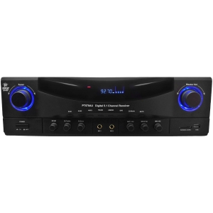 PyleHome PT570AU Amplifier - 350 W RMS - 5.1 Channel - FM, AM - USB