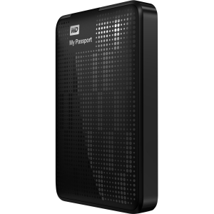 "WD My Passport WDBY8L0020BBK 2 TB 2.5"" External Hard Drive - Retail - Midnight Black - USB 3.0 - 5400 rpm"
