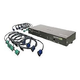 8PORT VGA KVM SWITCH INCLUDE 8USB CABLES TAA