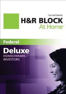 H&R Block at Home Deluxe 2011 Tax Software (Win/Mac)