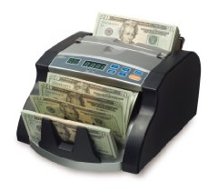 RBC-1100 Bill Counter with UV Counterfeit Detection (Counts 1100 Bills per Minute)