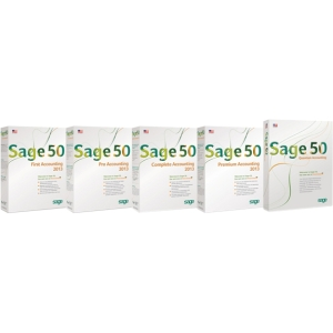 Sage Sage 50 2013 First Accounting - Complete Product - 1 User - Business - Standard Retail - PC