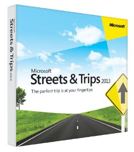 STREETS AND TRIPS 2013 32BIT ENG UK DVD