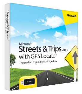 STREETS AND TRIPS GPS 2013 32BIT DVD
