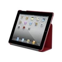 Targus Bittersweet Red Slim Case and Bone White Stylus Bundle for iPad 3/iPad