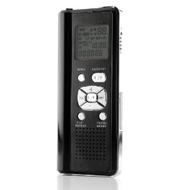 1GB DIGITIAL VOICE RECORDER WITH SD CARD SLOT & USB PORT