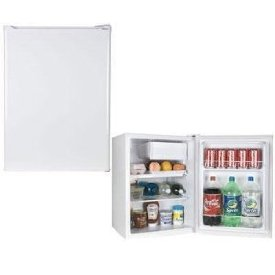 1.7 CUBIC FOOT REFRIGERATOR WHITE