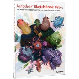 Autodesk SketchBook Pro v.6.0 - New License - 1 Seat - Commercial - PC, Mac - Multilingual