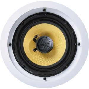 New Wave Audio C-650KV 80 W RMS Speaker - 2-way - 45 Hz to 20 kHz - 8 Ohm - Ceiling Mountable