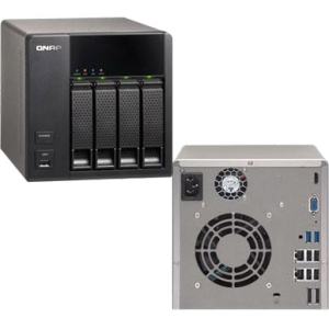 4BAY NAS TOWER SATA2 USB 3.0 INTEL D2700 1.86GHZ  D-CORE 1GB RAM