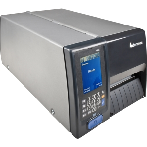 Intermec PM43c Direct Thermal Printer - Monochrome - Desktop - Label Print - 12 in/s Mono - 200 dpi - Fast Ethernet - USB - Touchscreen