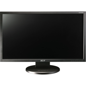 Acer V243HL 24&quot; LED LCD Monitor - 16:9 - 5 ms - Adjustable Display Angle - 1920 x 1080 - 16.7 Million Colors - 250 Nit - 100,000,000:1 - Speakers - DVI - VGA - Black - EPEAT Silver, TCO '05, Energy Star