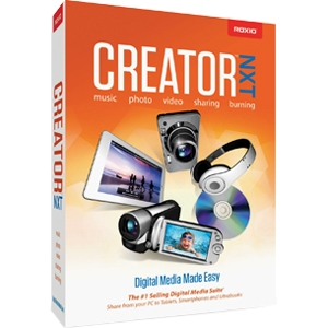 Creator NXT - Complete Product - 1 User - CD/DVD Authoring Mini Box - DVD-ROM - PC - English