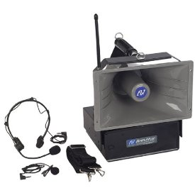 AMPLIVOX  WIRELESS 1/2 MILE HAILER