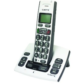 Clarity Dect 6.0 Cordless Amplified Phone With Clarity Power and Call Waiting Caller ID (50615)