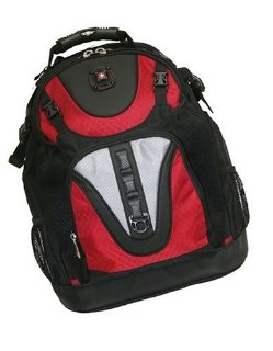 SWISSGEAR MAXXUM BACKPACK RED FITS UP TO 15.4IN LAPTOP
