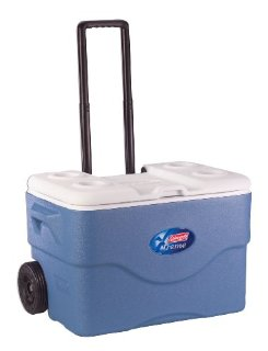 Coleman 50-Quart Xtreme 5-Day Wheeled Cooler