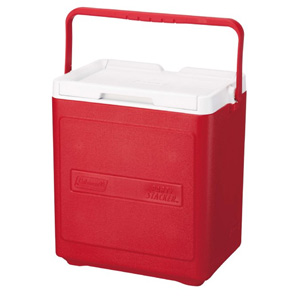 Coleman 20 Can Party Stacker Cooler (Red)