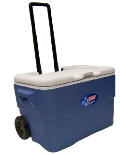 Coleman 50-Quart Wheeled Xtreme 5-Day Party Stacker Cooler