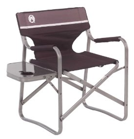 Aluminum Deck Chair with Table