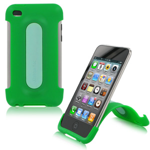 XtremeMac iPod Touch 4G Snap Stand - Lime Green