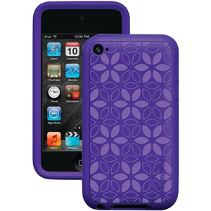 XtremeMac iPod Touch 4G Tuffwrap Tatu Skin Case - IPT-TT4-33 - Purple