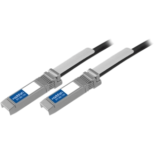 AddOn - Network Upgrades Cisco SFP-H10GB-CU1M Compatible 1m Passive Twinax Cable - Twinaxial for Network Device - 1m - 1 x SFP+ Network - 1 x SFP+ Network