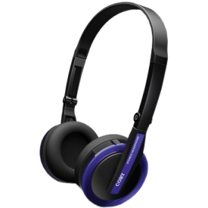 Coby Jammerz Elite Folding Headphones - Stereo - Blue - Mini-phone - Wired - 32 Ohm - 20 Hz 20 kHz - Gold Plated - Over-the-head - Binaural - Circumaural