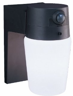 Heath/Zenith SL-5610-BZ Entryway Motion-Sensing Security Light, Bronze