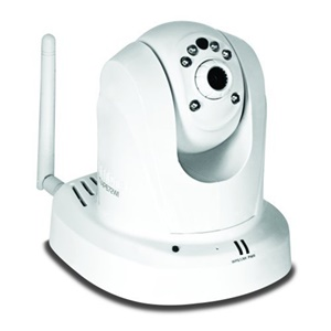 TRENDnet TV-IP672WI Surveillance/Network Camera - Color, Monochrome - Board Mount - CMOS - Wireless, Cable - Wi-Fi - Fast Ethernet