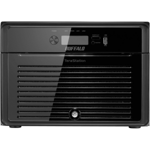 Buffalo TeraStation 5800 High-Performance 8-Drive RAID Business-Class NAS - Intel Atom D2700 2.13 GHz - RJ-45 Network, USB, USB