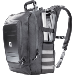 Pelican Urban Elite 0U1400 Carrying Case (Backpack) for iPad, Tablet PC, Netbook - Black - Abrasion Resistant - Kodra, Ballistic Nylon, Polyurethane