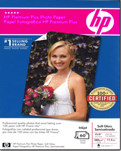 HP Q2506A Premium Plus Photo Paper Soft Gloss