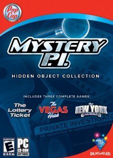 Mystery PI Hidden Object Collection  (3 Pack Lottery Ticket, Vegas Heist & and New York Fortune)